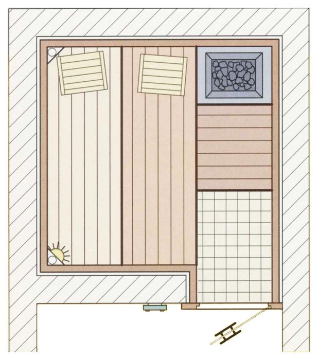 sauna grundriss raum und m beldesign inspiration. Black Bedroom Furniture Sets. Home Design Ideas